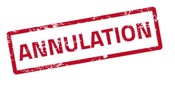 """Résultat de recherche d'images pour """"annulation"""""""